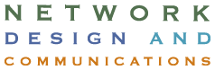 Network Design and Communications logo