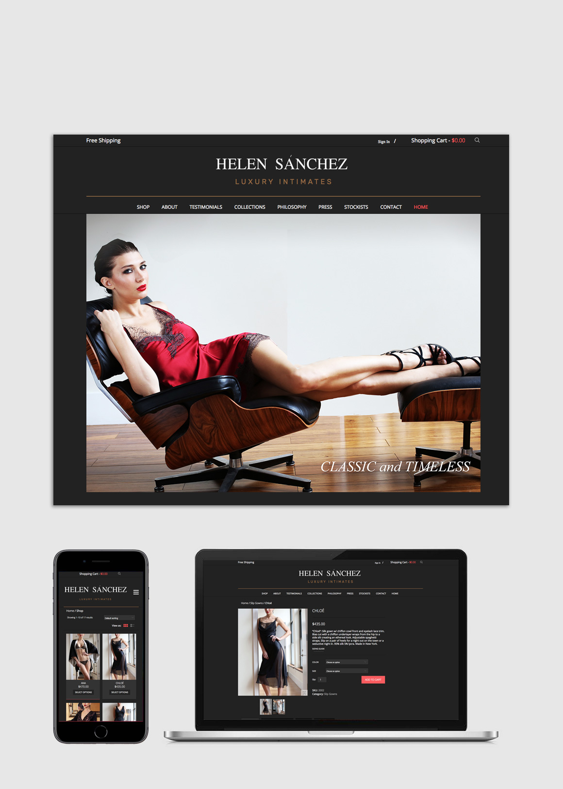 Portfolio: Helen Sánchez - Web Design and Development