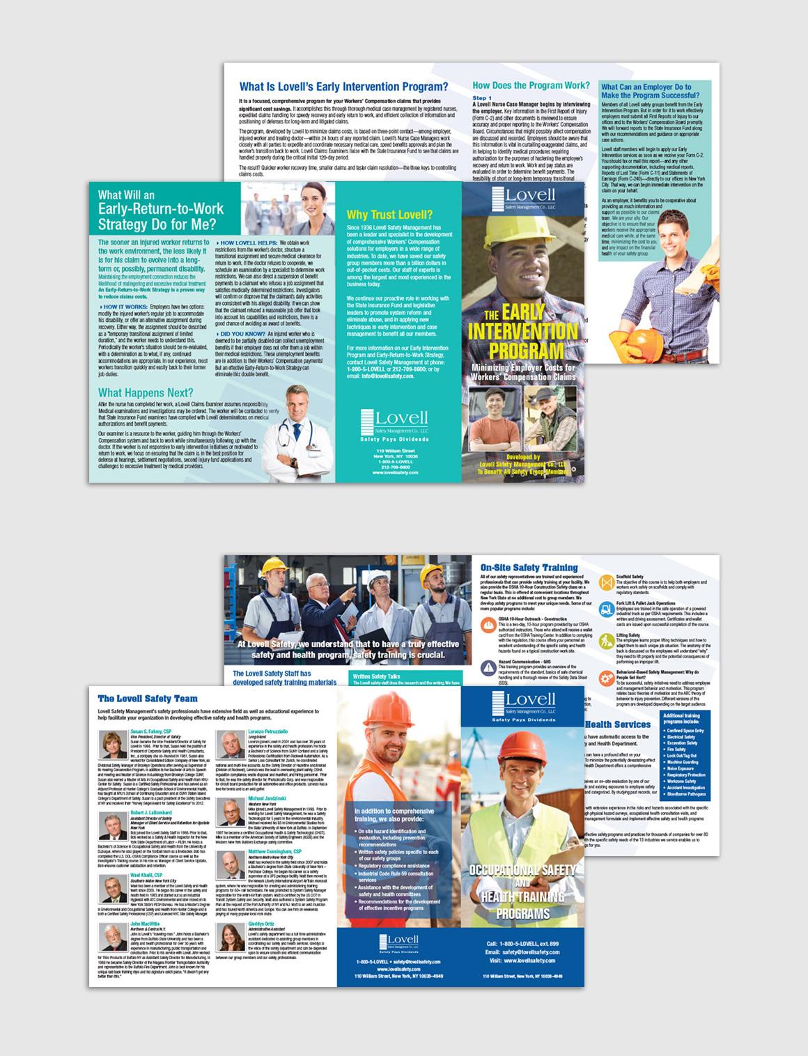 Portfolio: Lovell Safety Management Co. - Print/Graphic Design